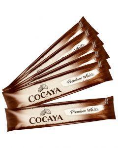 COCAYA Premium White Portionssticks Typ Weisse Schokolade 8 x 25 g