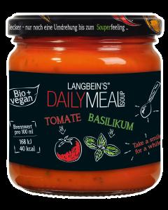 BIO Tomaten-Basilikum Suppe im Glas von Langbein's DAILY MEAL, 350 ml