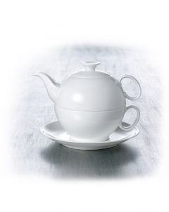 HEIDI Tea for one China Bone Set 4-teilig