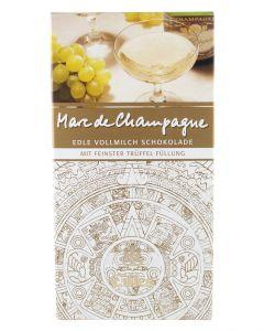 EILLES Premiumschokolade mit Schaumwein nach Art de Marc de Champagner 100 g Tafel