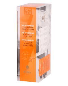 EILLES Tea Jacks Früchtetee Vita Orange Box mit 20 Maxi Teebeutel (120 g)