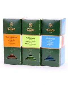 CLASSIC BEST Set mit den drei beliebstesten Sorten der EILLES Teebeutel