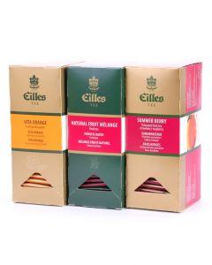 FRUIT Set mit den drei beliebstesten Sorten der EILLES Teebeutel