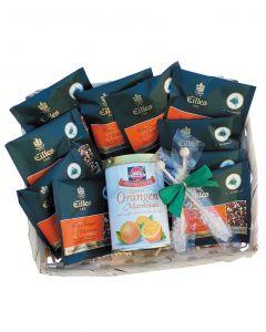 Wellnessset , Tea Diamonds und Schwartau Bttere Orangen Marmelade