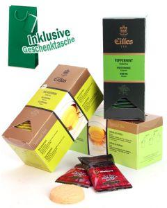 KRÄUTER Tee Geschenktasche mit Deluxe Teebeuteln von EILLES TEE