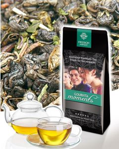 Grüner Tee Casablanca Minze Gourvita Moments 100 g