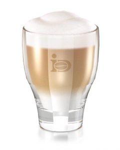 Designer Caffé Latte Glas von JJ. Darboven