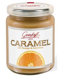 Grashoff CARAMEL Caramel-Creme mit Orange und Cointreau 250 g