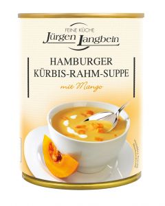 Jürgen Langbein Hamburger Kürbis-Rahm-Suppe 400 ML