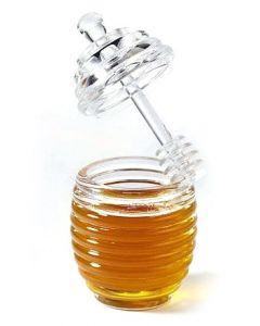 HONEY Designer Honigtopf mit Löffel