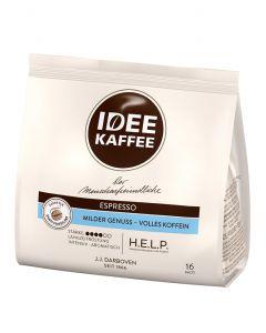 IDEE KAFFEE Caffè Crema Kaffeepads 16er (112 g)