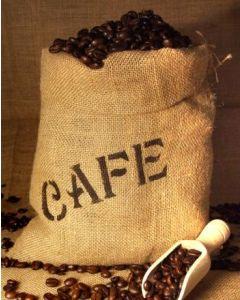 Echter Kaffeesack aus Jute oder Sisal