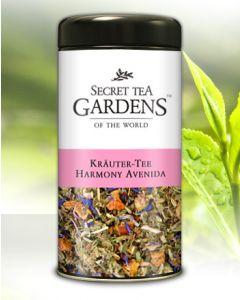 Harmony Avenida Kräuter Tee Bergkräuter-Aroma Secret Tea Gardens 100 g