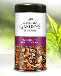 Winter`s Chalet Kräuter Tee Zimt-Vanille-Aroma von Secret Tea Gardens 125 g