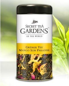 Mango Sun Paradise Grüner Tee Mango-Aroma von Secret Tea Gardens 110 g