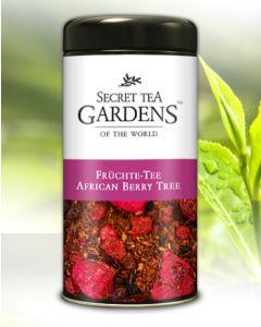 African Berry Tree Früchte Tee mit Rooibos Himbeer-Aroma von Secret Tea Gardens 125 g