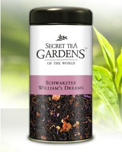 William`s Dreams Schwarzer Tee Birnen-Aroma von Secret Tea Gardens 125 g