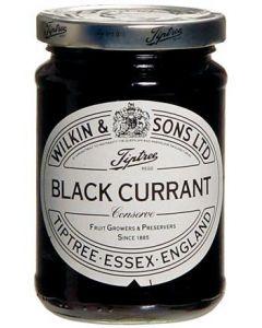 Schwarze Johannisbeere Konfitüre von Wilkin & Sons aus England 340 g