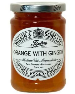 Orange mit Ginger Konfitüre von Wilkin & Sons aus England 340 g