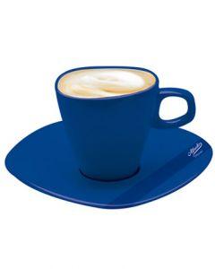Alfredo Milchkaffeetassen Blau 2er