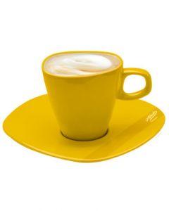Alfredo Milchkaffeetassen Gelb 2er