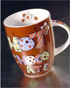 Hot Chocolate Porzellanbecher