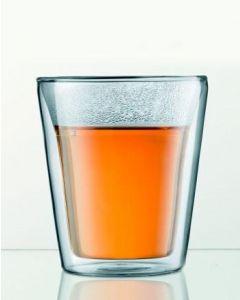 SCHOKO-GLAS für Trinkschokolade etc. 2er
