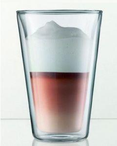 Bodum Canteen Latte Macchiato Gläser 2er