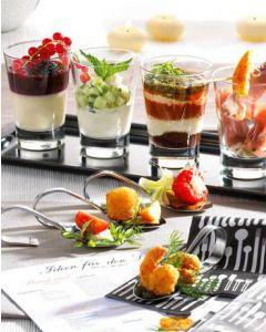 FOOD PARTY Set mit Löffel Buffet