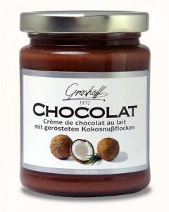 Grashoff CHOCOLAT Schoko-Creme mit Milchschoko und Kokosnussflocken 235 g