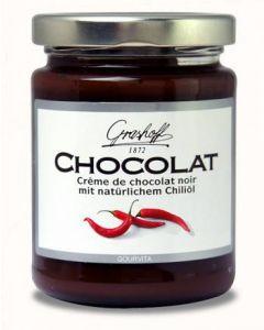 Grashoff CHOCOLAT Dunkle Schoko-Creme mit Chili 250 g