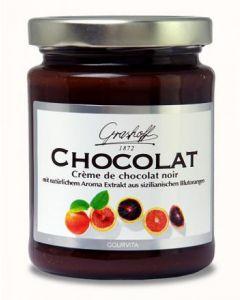Grashoff CHOCOLAT Dunkle Schoko-Creme mit sizialinischer Blutorange 250 g