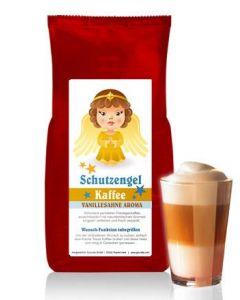 SCHUTZENGEL Kaffee mit Vanille-Sahne Aroma 250 g Bohne