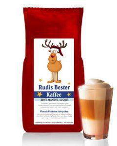 RUDIS BESTER Kaffee mit Zimt-Mandel Aroma 250 g Bohne