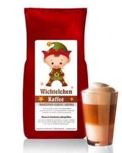 WICHTELCHEN Kaffee mit Marzipan-Sahne Aroma 250 g Bohne