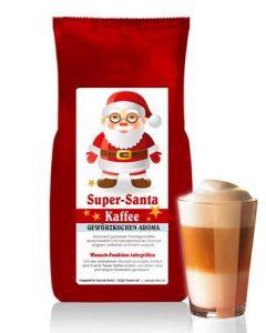 SUPER-SANTA Kaffee mit Gewürzkuchen Aroma 250 g Bohne