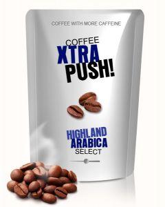 XTRA PUSH! With more caffeine Kaffee Arabica 250 g Bohne