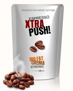 XTRA PUSH! With more caffeine Espresso Stark 250 g Bohne