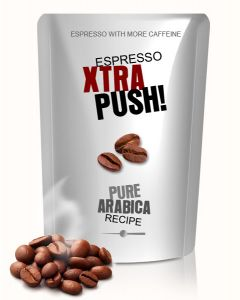 XTRA PUSH! With more caffeine Espresso Arabica 250 g Bohne