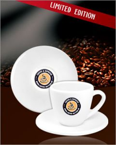 Coffee-Nation Espressotassen Doppelset