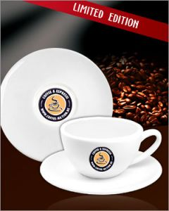 Coffee-Nation Cappuccinotasse Doppelset