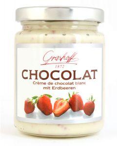 Grashoff CHOCOLAT Weisse Schoko-Creme mit Erdbeere 250 g