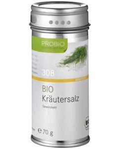 Probio Kräutersalz, Bio, Streudose, 70 g