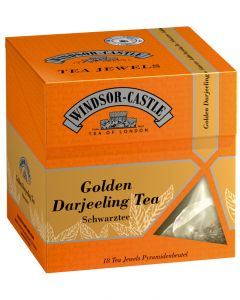 Windsor-Castle Golden Darjeeling Tea Jewel, Pyramidenbeutel, 18er, 35 g