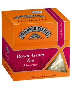 Windsor-Castle Royal Assam Tea Jewel, Pyramidenbeutel, 18er, 35 g