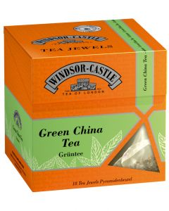 Windsor-Castle Green China Tea Jewel, Pyramidenbeutel, 18er, 35 g