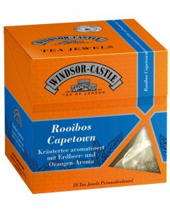 Windsor-Castle Rooibos Capetown Tea Jewel, Pyramidenbeutel, 18er, 35 g