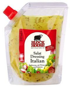 Block House Salat Dressing Italian, Folienbeutel 250 ml