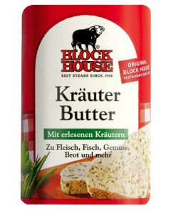 Block House Kräuter Butter, Riegel 125 g