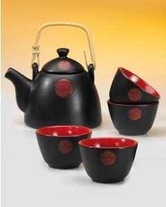 SABOON Nobles Tee-Set mit Kanne